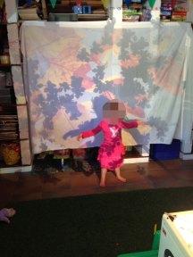 autumn small school projector
