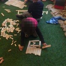 loose parts indoors wood