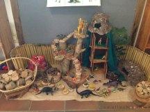 small school tree house