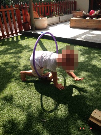 obstacle course playschool movement