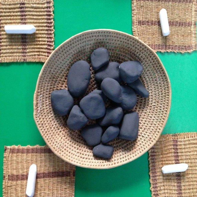 chalk stones