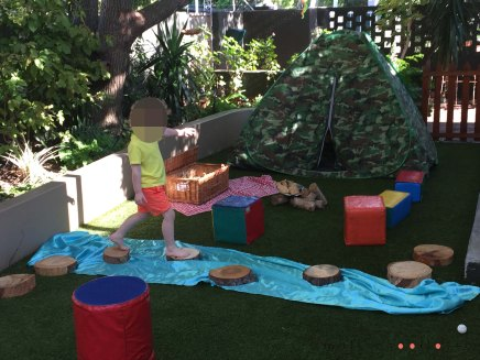 summer and camping playschool