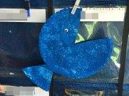 blue fish bubble wrap