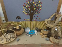 autumn play provocation