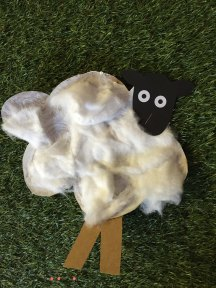 mary had a little lamb art