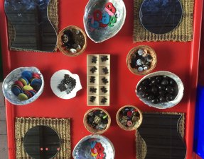 numbers and loose parts